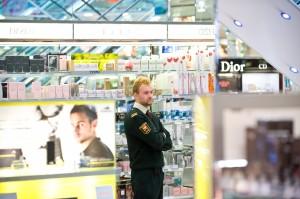 Sintal varnostnik v trgovini