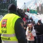 Planica 2013 Varovanje Sintal - varnostniki in varnostnice