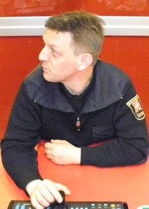 Tomaž Bajt, varnostnik v Sintalu Obala