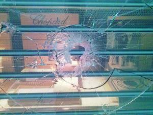 Razbito steklo, varnostna folija, varovanje Sintal