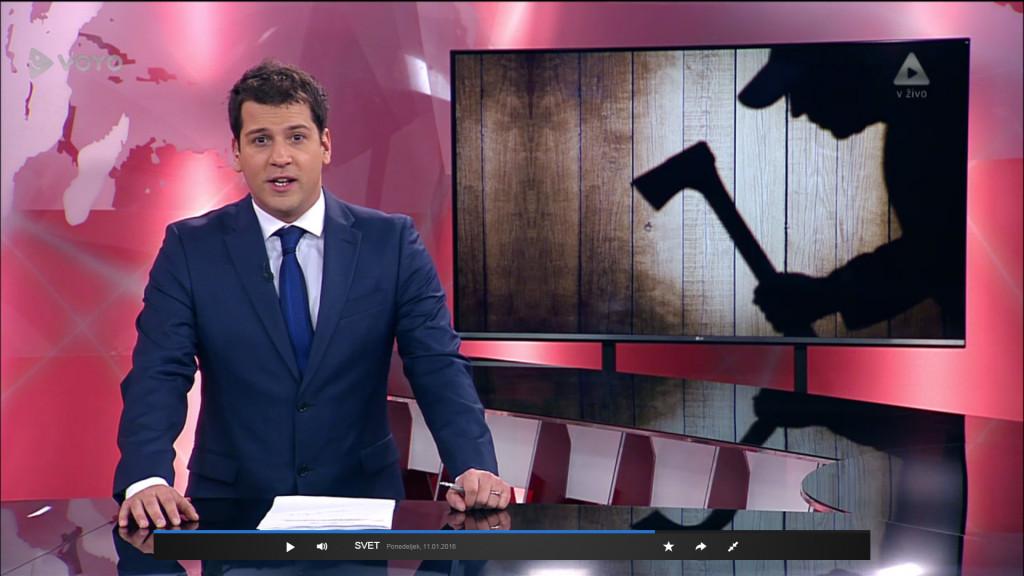 Prispevek o akciji varnostnikov koncerna Sintal na Voyo / Svet na Kanalu A